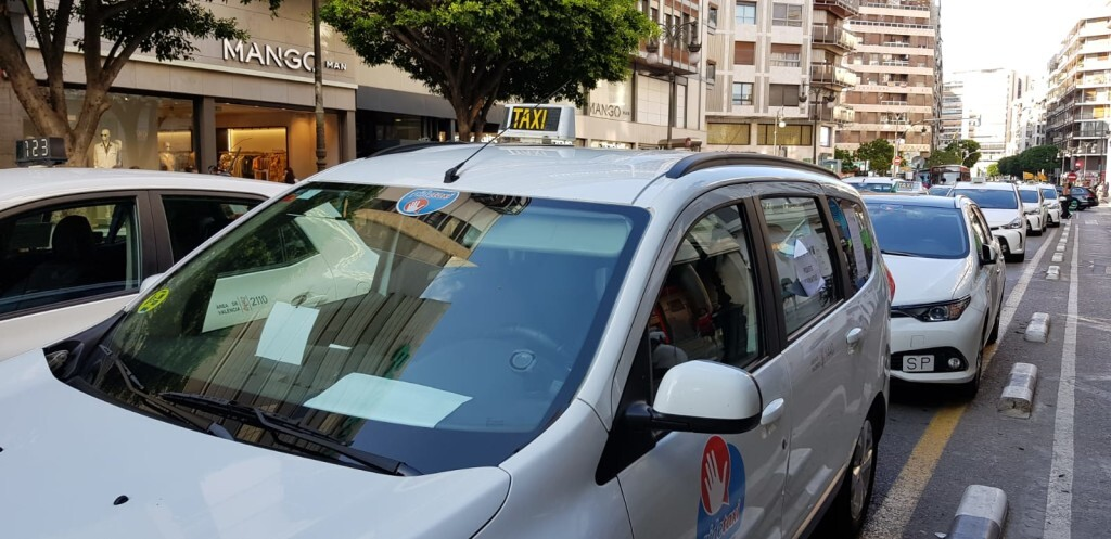 huelga taxia valencia