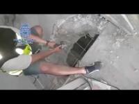 La Policía Nacional detiene a los presuntos responsables de construir zulos hidráulicos para ocultar droga en el Campo de Gibraltar