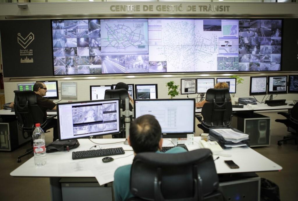 Jose Cuellar 13/07/2018 Valencia, Comunidad Valenciana. Sala de Control de Trˆnsit de l'Ajuntament de Valncia