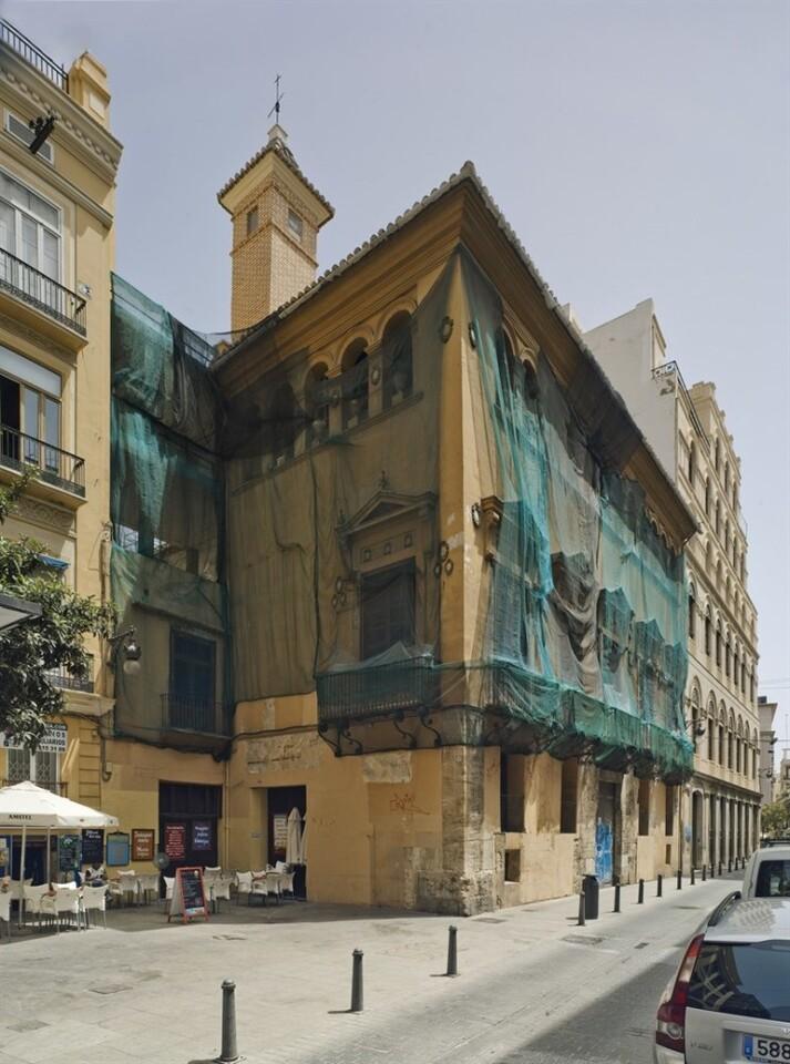 Arrancan las obras para convertir el Palacio Valeriola de València en un centro de arte
