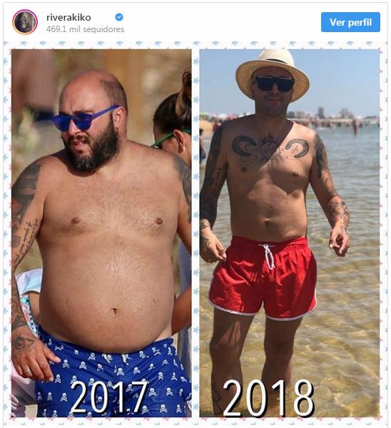 Así se ha quedado Kiko Rivera después de perder 42 kilos OFFICIAL PRESS