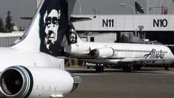 Avion Robado Alaska Airline