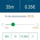 Garcia replica a Gabarda que la zona blava i verda es pot pagar des del mòbil des del mes de març