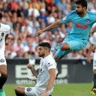 Empate entre Valencia y Atlético en un partido muy intenso en Mestalla (1-1)
