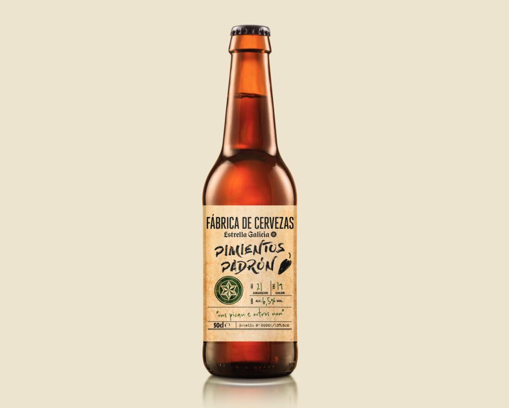 Fábrica de Cervezas Estrella Galicia de Pimientos de Padrón