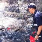 El Grup Operatiu d'Investigació d'Incendis Forestals de la Generalitat investiga l'origen de 277 focs ocasionats en la muntanya fins agost