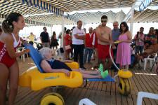 La Comunitat Valenciana cuenta con 85 puntos de playas accesibles para personas con diversidad funcional o movilidad reducida