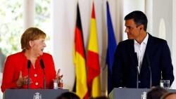 Sanchez y Merkel