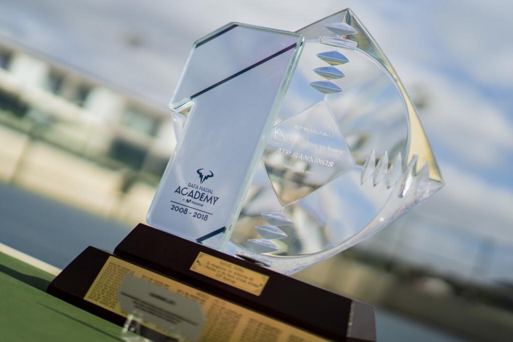 Trofeo 1x10 (2018) y Trofeo ATP (2008).