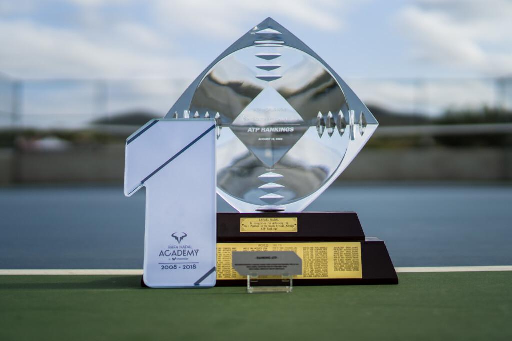 Trofeo 1x10 (2018) y Trofeo ATP (2008)..