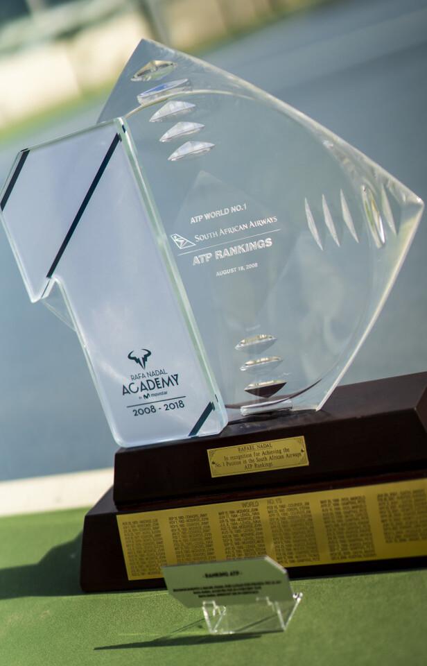 Trofeo 1x10 (2018) y Trofeo ATP (2008)