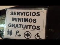 Continúan losservicios mínimos gratuitos con la huelga taxi en la Comunitat