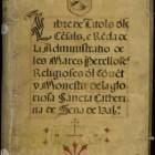 La Biblioteca Valenciana digitalitza 180 manuscrits dels seus fons documentals