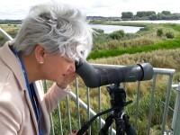 pilar en Rutland_birdwatching