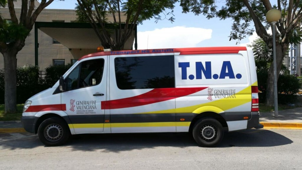 tna ambulancia asistencia no asistido