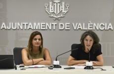 Sandra Gomez y maria Oliver en roda de premsa