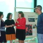 Glòria Tello presenta en el museu de Vivers «de la acción a la palabra», una exposición de Médicos sin Fronteras «contra el silencio que mata»