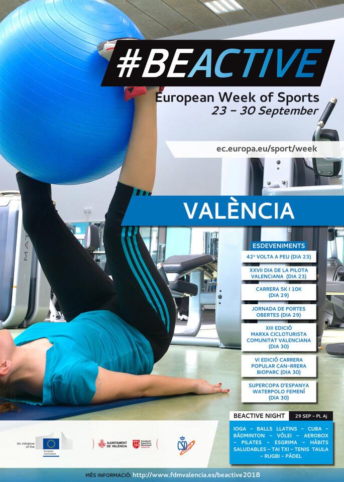 0924 Setmana Europea Esport. Cartell