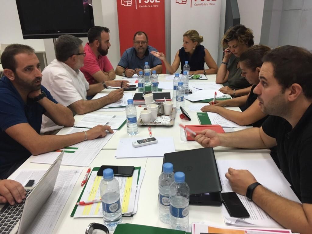 12-09-2018 El grupo socialista impulsa el proyecto de cambio en Castellón para rendir cuentas ante la ciudadanía