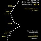 Un total de 25 entidades organizan más de 60 actividades para celebrar la I Noche Europea de la Investigación Valenciana