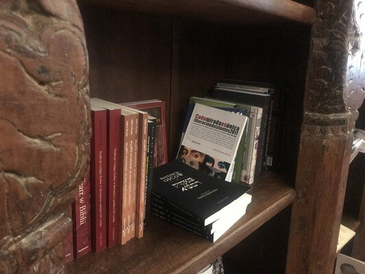 3 La antología de LIBRO, VUELA LIBRE en la librería judía Księgarnia Austeria