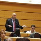"""Jordi Navarrete: """"Ministra, els valencians estem farts de pagar tant i rebre tan poc"""""""