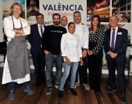 Bernd Knöller, del restaurante Riff Miguel Ángel Mayor, de Sucede; Vicente Patiño, de Saiti, y Alejandro del Toro, de restaurante Alejandro del Toro.