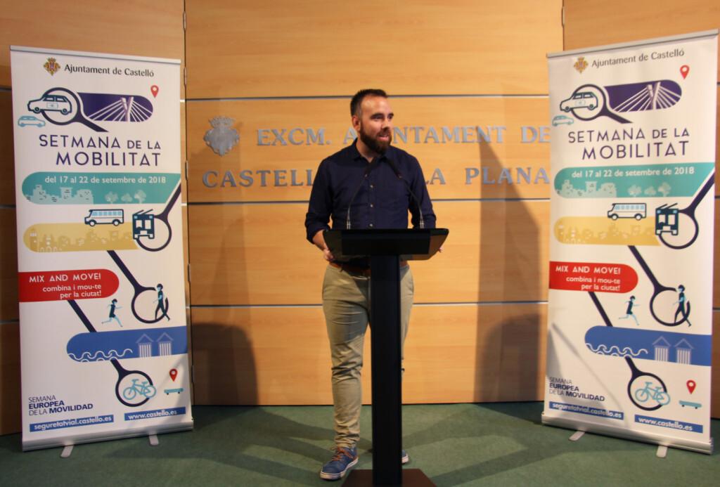 Castelló reivindica una major sostenibilitat en els desplaçaments urbans durant la Setmana de la Mobilitat1