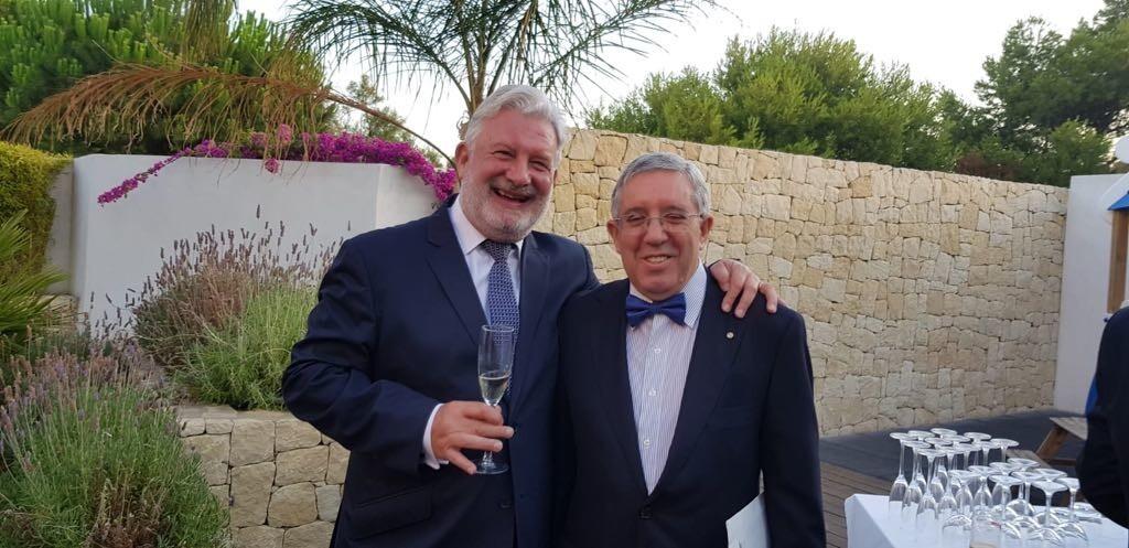 Ceremonia de cambio de collares Rotary club Valencia 2018 (3)