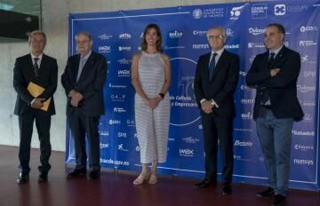 Foto Presidenta Consejo Social y presidente CNMV