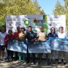 L'Ajuntament i la Marató BP Castelló lliuren els xecs solidaris