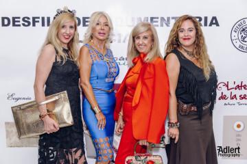 Judith Mas, Coté Soler, Mª Rosa Fenollar y Carolina Taravilla