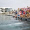 La Copa de Europa del Triatlón se celebra este fin de semana en La Marina de Valencia.
