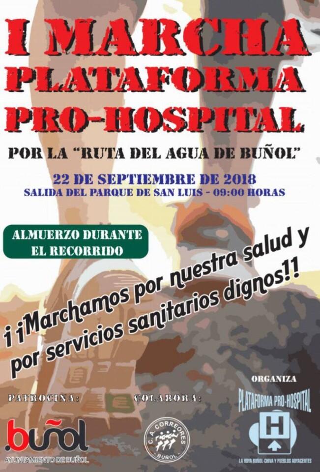Marcha Plataforma Pro-Hospital