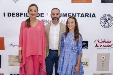 Rocío Gil y Daniela Gómez, FMV2018 junto al Maestro Mayor del Gremio, Fran Tochena