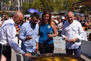 Valencia muestra la riqueza de su plato más tradicional la paella en su World Paella Day 20180920_114141 (240)