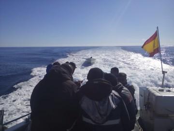 inmigrantes patera Problemática del servicio SIVE de la Guardia Civil en Alicante (1)