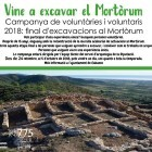 Nova campanya d'excavacions arqueològiques al Tossal del Mortòrum – Cabanes