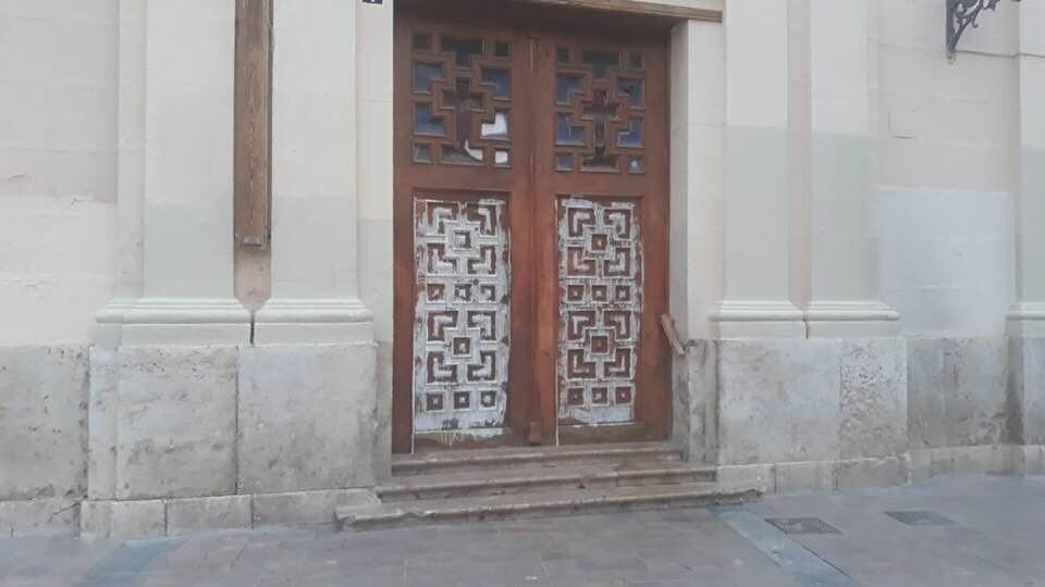 pintadas iglesia Benimaclet 2