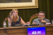 02-10-2018 Marco destaca l'aval unànime del ple als comptes de l'Ajuntament i els patronats