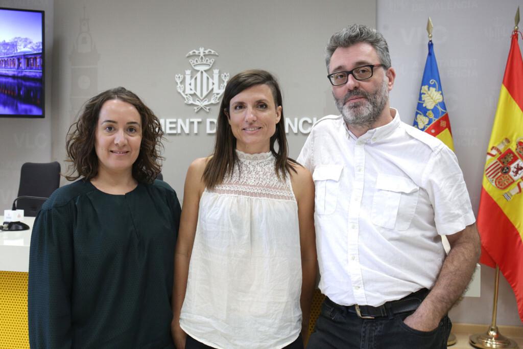 VALENCIA  2018-10-05 La presidenta de la Entidad Pública Empresarial Mostra de València, Gloria Tello, presenta en roda de premsa el 33 Festival Mostra de València-Cinema del Mediterrani.