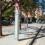 Mobilitat sostenible adapta dos parades de l'EMT al carrer d'Alcàsser per a fer-les accessibles