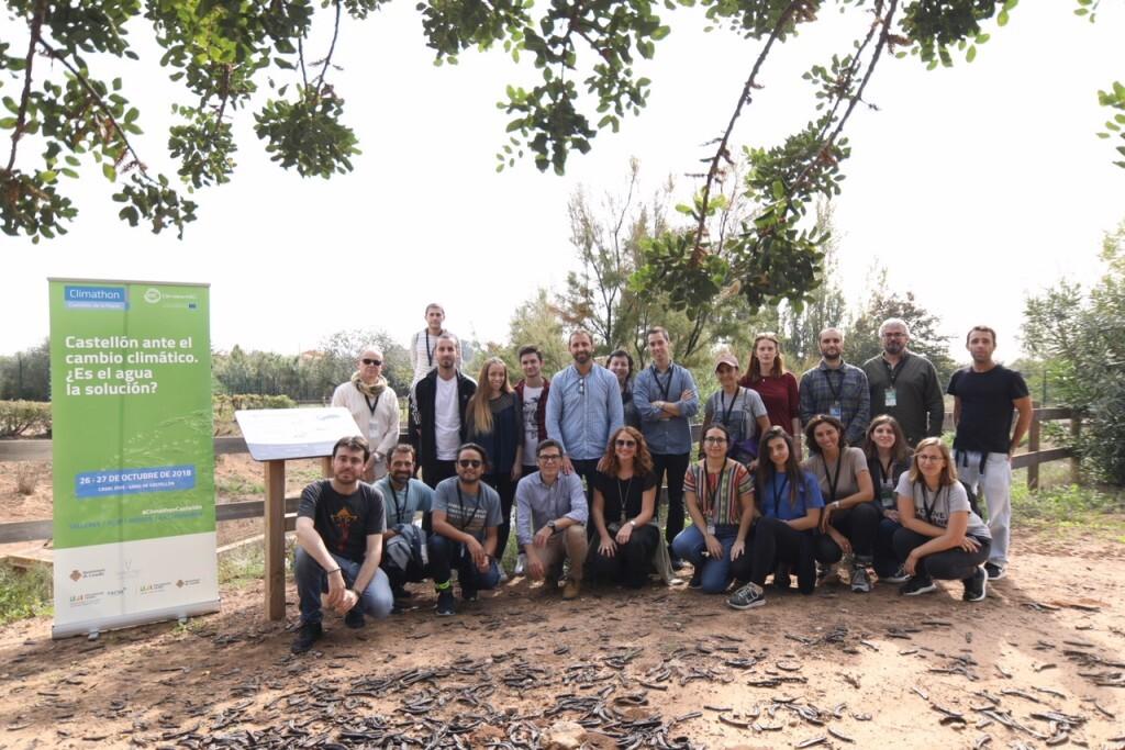 26-10-2018 Castelló es bolca en la lluita contra el canvi climàtic en l'esdeveniment mundial Climathon