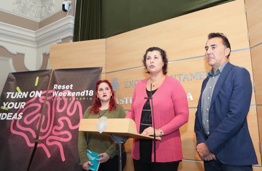 29-10-2018 Reset Weekend reuneix a 60 emprenedors en el CEEI de Castelló en el seu desè aniversari