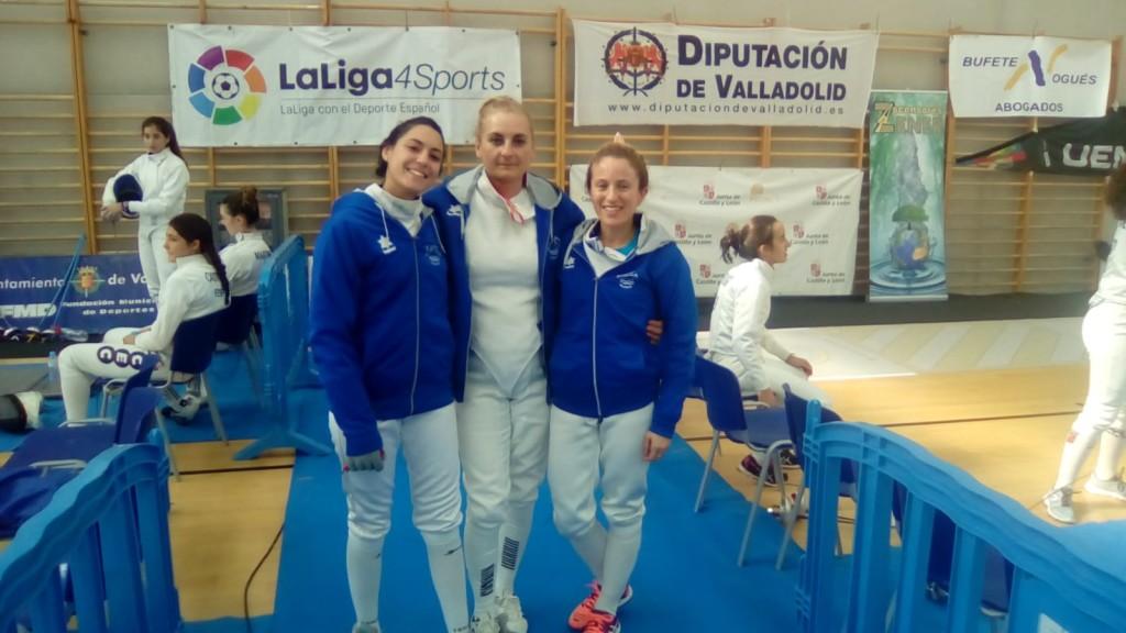 Equipo Femenino Esgrima Maritim en Valladolid 01