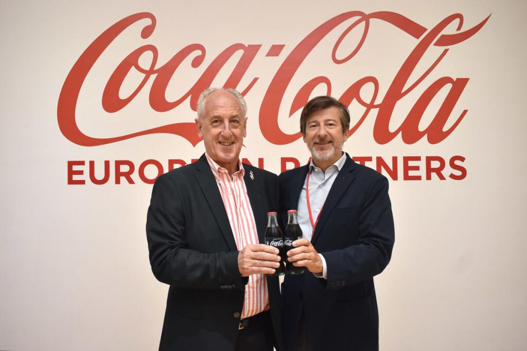 Foto acuerdo Coca-Cola