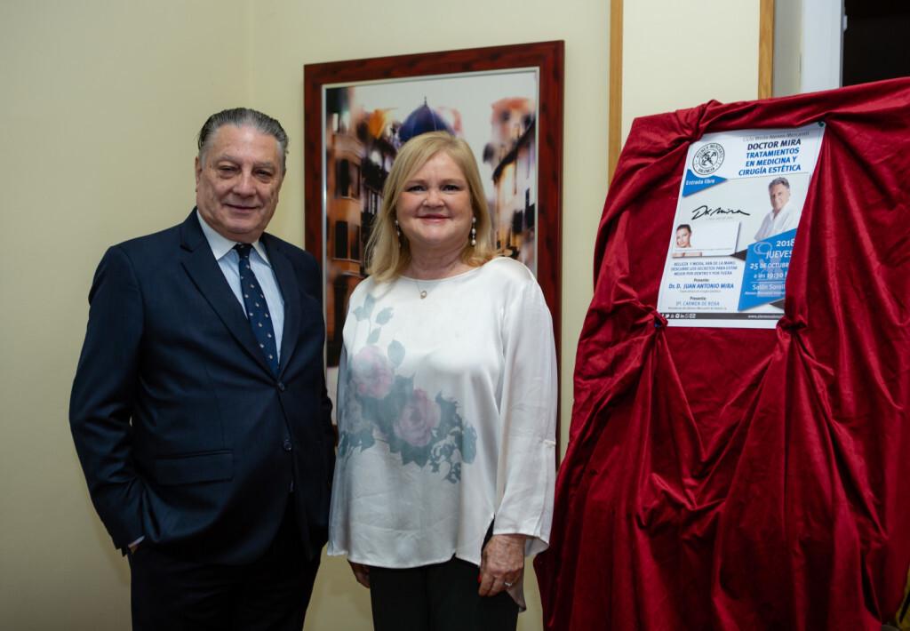 Juan Antonio Mira y Carmen de Rosa