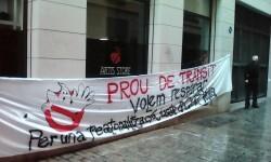 Manifestación realizada en la calle Murillo de Valencia para protestar por la saturación de tráfico (11)