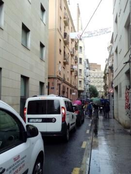 Manifestación realizada en la calle Murillo de Valencia para protestar por la saturación de tráfico (3)