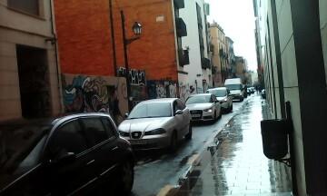 Manifestación realizada en la calle Murillo de Valencia para protestar por la saturación de tráfico (8)